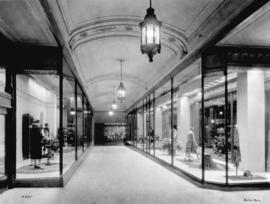 [Spencer's Department Store ] arcade [window display]