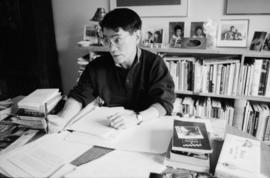 Publicity shots of Paul Yee : ca. 1991 [2 of 21]
