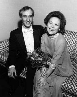 [John Atkins and] Renata Scotto, soprano