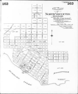 Plate 163  [Key Plan of North Vancouver]