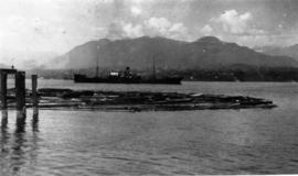 C.G.M.M. Freighter and North Shore mountains