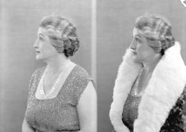 [Two head and shoulder portraits of Mrs. Harry Duker]
