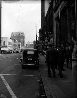 [View of Hastings Street]