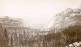 Bow River Valley and C.P.R. Hotel, Banff National Park