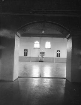 Beatty Street Armoury [620 Beatty Street.  Doorway into drill hall]
