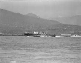 [The 'Salvos' in Vancouver harbour]