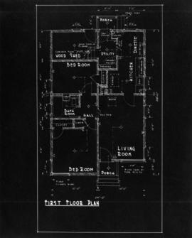 Plan of bungalow