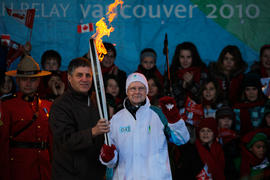 Day 25 George Gallant is the Community Torchbearer in Shediac, New Brunswick