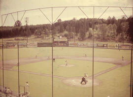 Capilano Stadium, baseball game