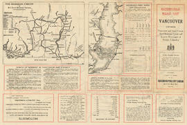 Automobile road map of Vancouver Canada : side 1