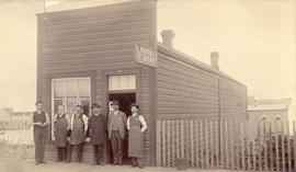 [Exterior of the R.Mathison Jr. The Job Printer building - 323 W. Hastings St.]