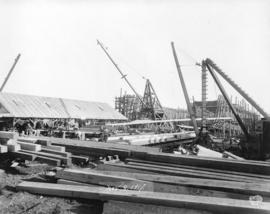[Pacific Construction] Ltd. shipyards, Coquitlam, B.C.