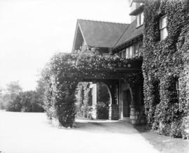 "[Rose covered entrance to General John W. Stewart's residence (""Roses"") - 1675 Ang..."