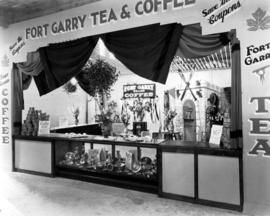 Fort Garry display of tea and coffee