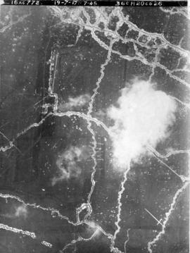 [Aerial view of trenches]