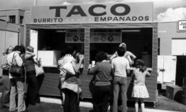 Taco stand on P.N.E. grounds
