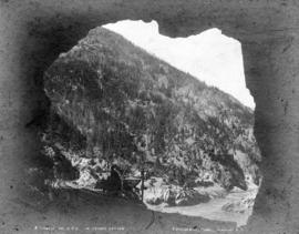4 Tunnels on C.P.R. in Fraser Canyon