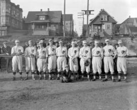 C.P.R. [Base]ball Team for 1921
