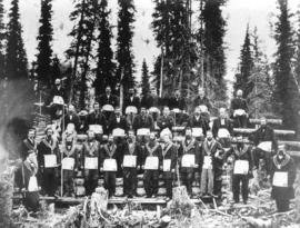 Cariboo Lodge No. 4 A.F. and A.M. Meeting Held on Mountain, Sometime in 1869