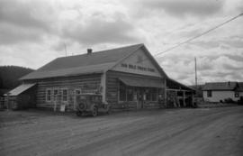 [100 Mile House Store on the Cariboo Road]