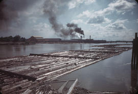 View of Fraser River at Eburne Sawmill