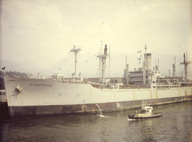 Troopship from Korea, Vancouver, May 11/52