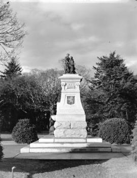 Burns monument, Beacon Hill Park, Victoria, B.C.