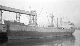 M.S. Irish Rowan [at dock]