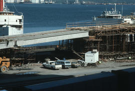 Burrard Viaduct Construction [9 of 10]
