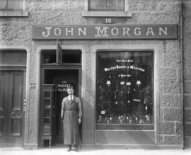 [John Morgan's boot shop]
