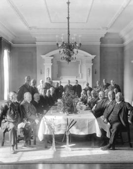 [A banquet for leading citizens at the Vancouver Club]