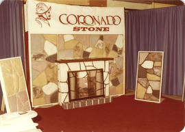 Coronado Stone display booth