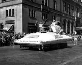 B.C. Electric float in 1947 P.N.E. Opening Day Parade