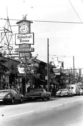 Schnitzel House Restaurant on Robson Street