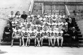 Members of the 1920 Canadian Olympic team