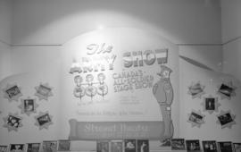 Hudson Bay Company Army [stage] show window display