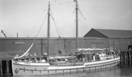 "[R.C.M.P. ship ""St. Roch"" at Evans, Coleman and Evans dock]"
