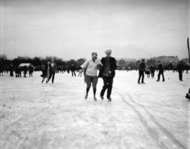 Skaters at Trout Lake, taken for Star Publishing Co.