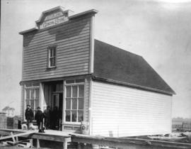 [Exterior of J.C. Forlong General Store on 2nd Avenue]