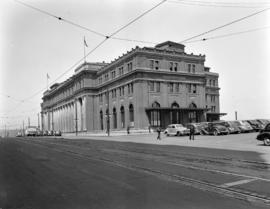 [View of the C.P.R. station]