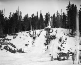 [Ski jump] Hollyburn Ridge