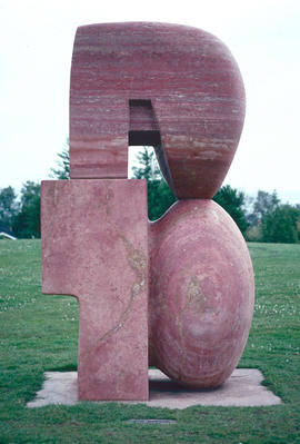 "Sculptures and Art : ""Travertine Sculpture 75,"" David Marshall, Canada"