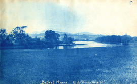 Bethel Maine [large field with a river]