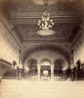 [Entrance to Vancouver Opera House - 733 Granville St.]