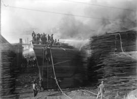 Alberta Lumber Co. fire