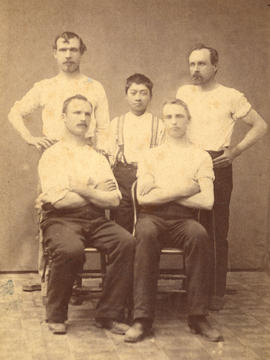 Crew of the Annie Fraser