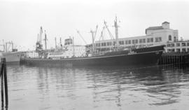 "M.S. Jaladhir [at dock, at Pier ""B""]"