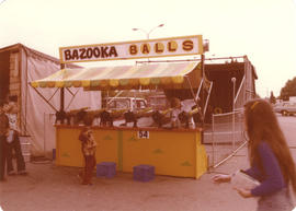 Bazooka Balls game on grounds