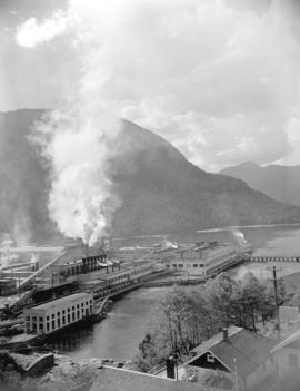 [View of Pacific Mills] plant