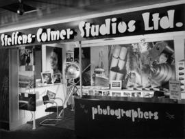 Steffens-Colmer Studios display of photography products and services
